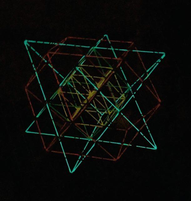 立体神聖幾何学★綿棒ワーク<昭和の日>に開催